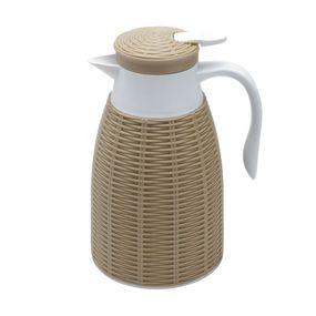 Garrafa-Termica-Com-Rattan-De-Plastico-Bege-Tress-1l