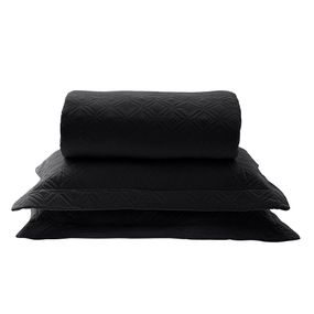 Kit-Colcha-Casal-New-Everyday-Oxford-Preto-22x24m-Naturalle