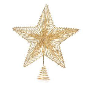 Estrela-Dourada-Para-Ponteira-De-Arvore-De-Natal-30cm