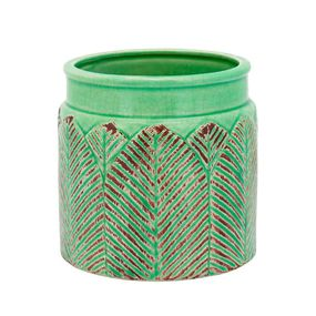 Vaso-Crispin-De-Ceramica-Verde-135x14cm