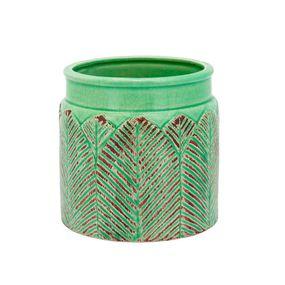 Vaso-Crispin-De-Ceramica-Verde-13x10cm
