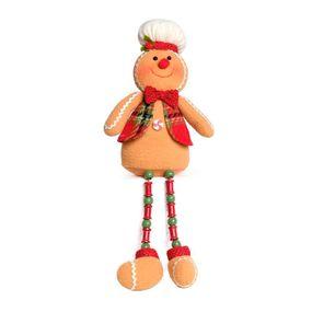 Ginger-Bread-Sentado-Com-Colete-Caramelo-E-Vermelho